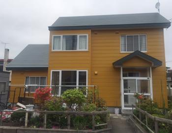 苫小牧市S様邸の屋根葺き替え施工事例