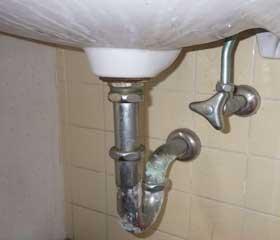 排水口の修理リフォーム